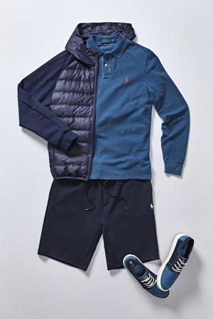 regular fit sweatshort marine