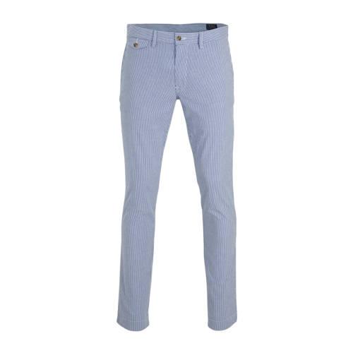 POLO Ralph Lauren gestreepte slim fit pantalon bla