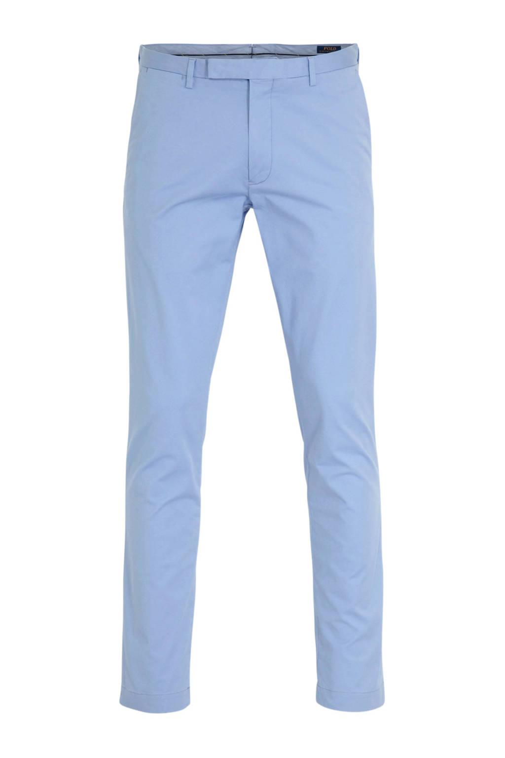 POLO Ralph Lauren slim fit chino lichtblauw, Lichtblauw