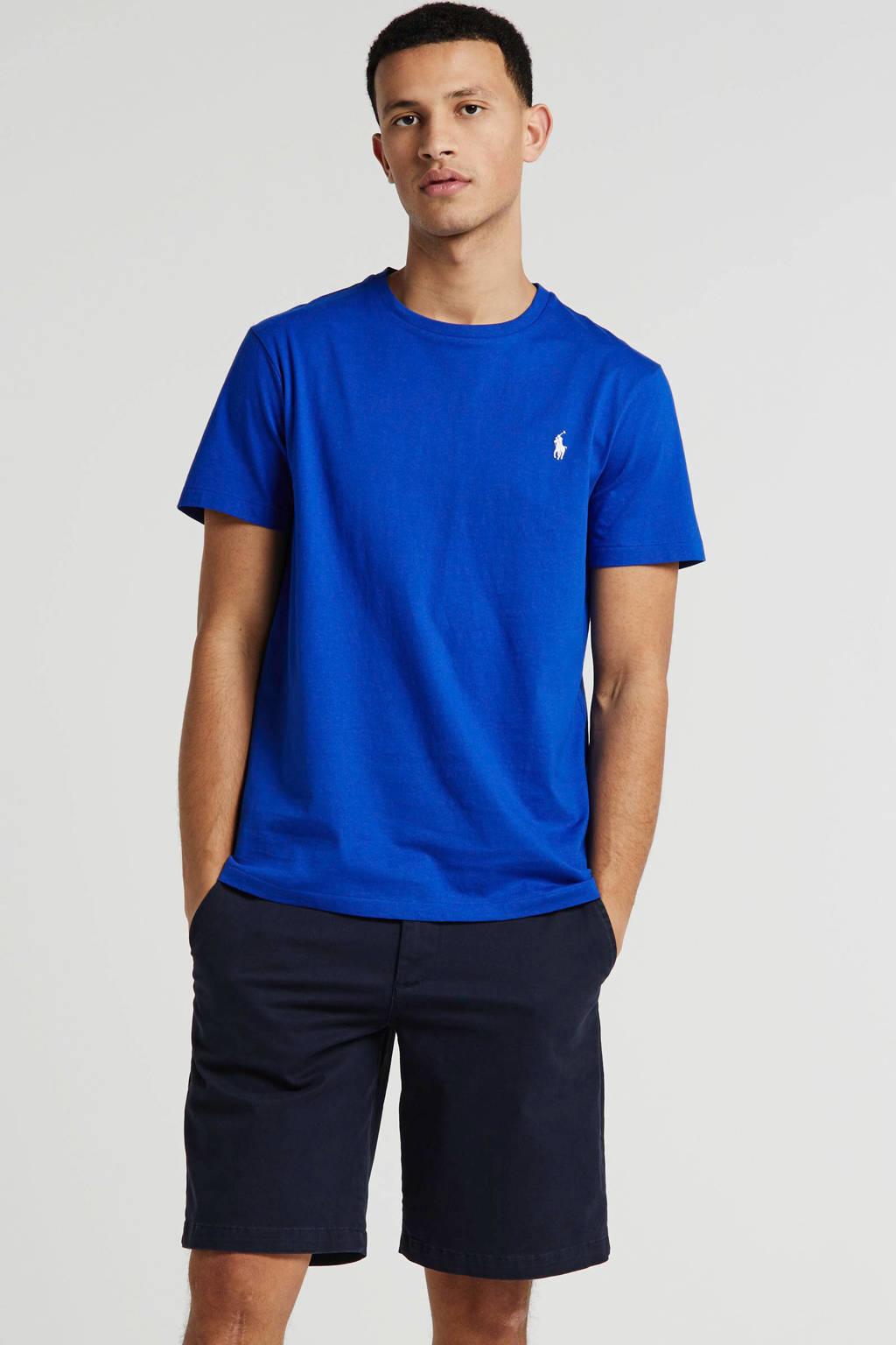 POLO Ralph Lauren T-shirt met logo blauw, Blauw