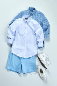 POLO Ralph Lauren slim fit sweat short blauw, Blauw
