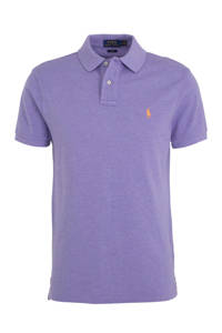 POLO Ralph Lauren slim fit polo paars, Paars
