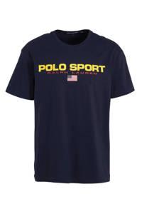 POLO Ralph Lauren T-shirt met printopdruk marine, Marine