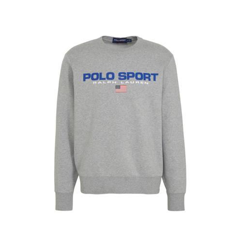 POLO Ralph Lauren sweater met logo grijs