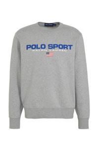 POLO Ralph Lauren sweater met logo grijs, Grijs