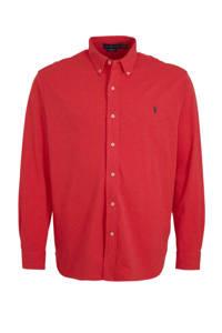 POLO Ralph Lauren Big & Tall +size regular fit overhemd rood, Rood