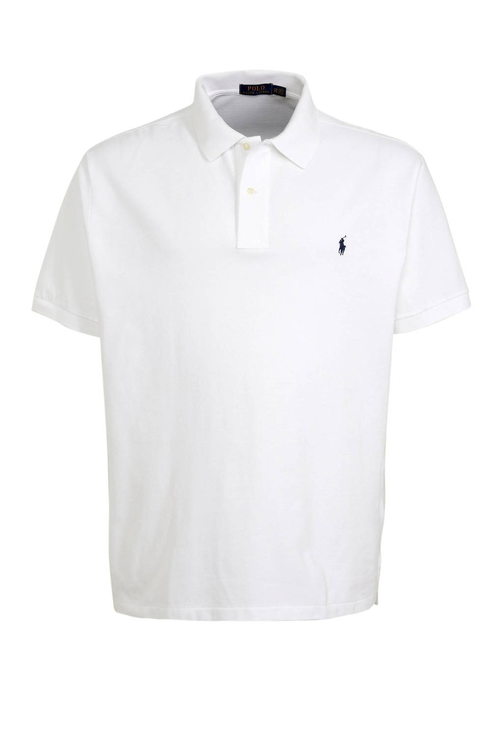 POLO Ralph Lauren Big & Tall +size regular fit polo wit, Wit