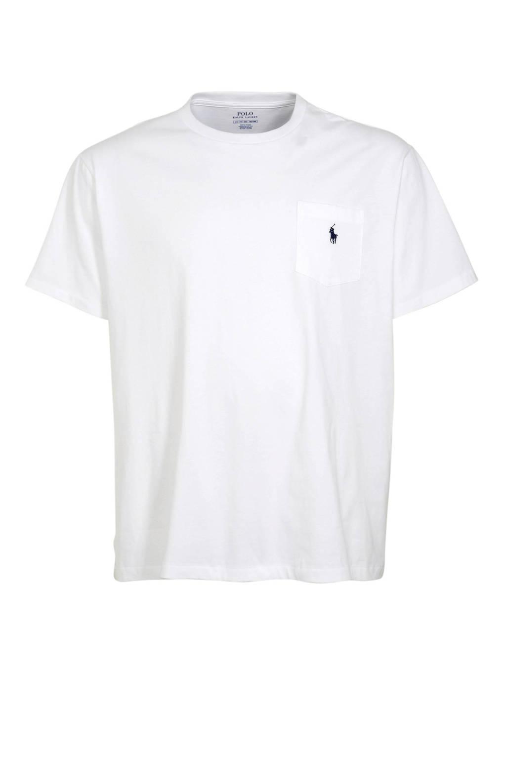 POLO Ralph Lauren Big & Tall +size T-shirt wit, Wit
