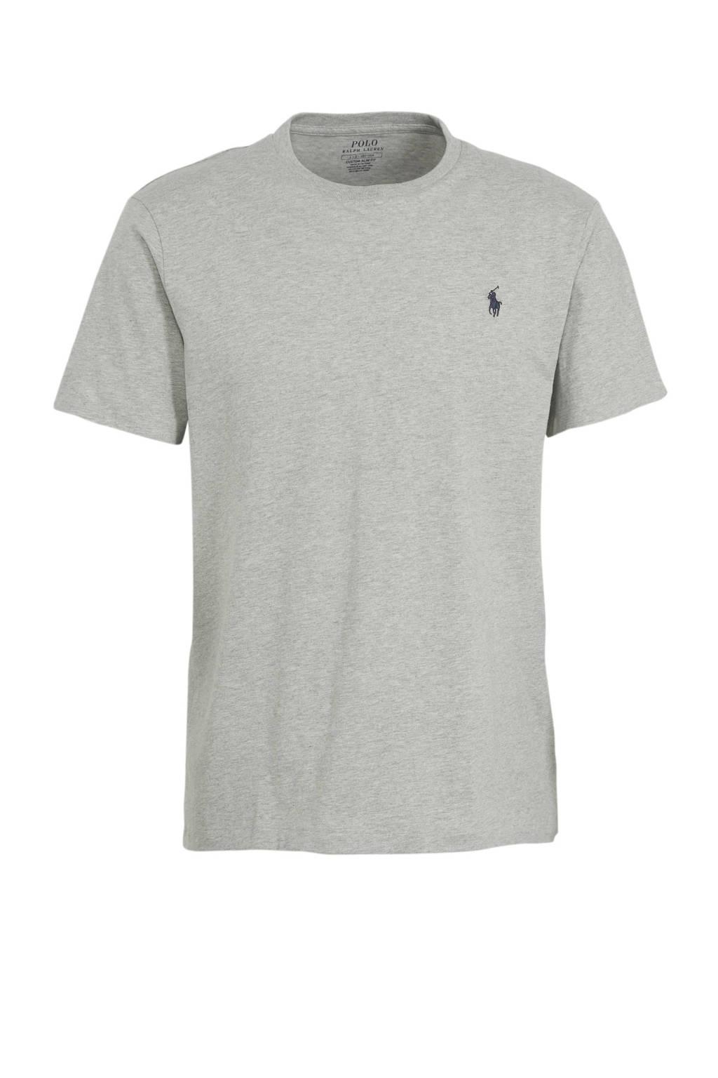 POLO Ralph Lauren T-shirt met logo grijs, Grijs
