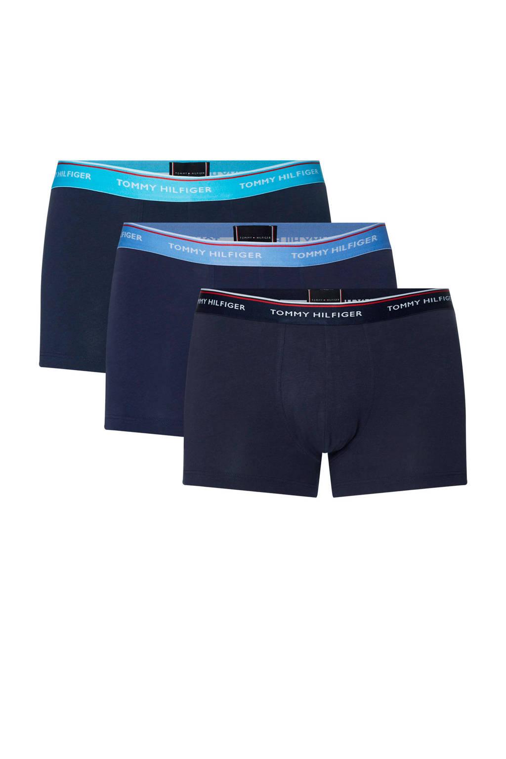 Tommy Hilfiger boxershort (set van 3), Marine / blauw