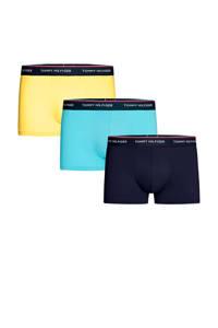 Tommy Hilfiger boxershort (set van 3), Blauw / marine / geel