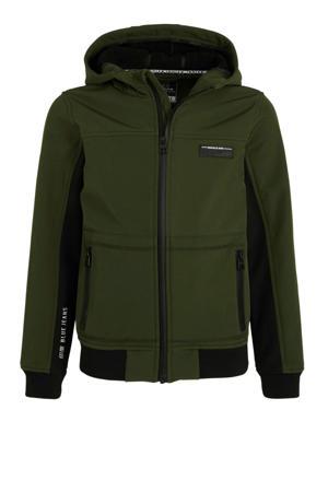 zomerjas army groen/zwart