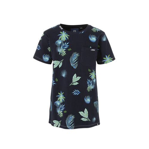 Indian Blue Jeans T-shirt met all over print donke