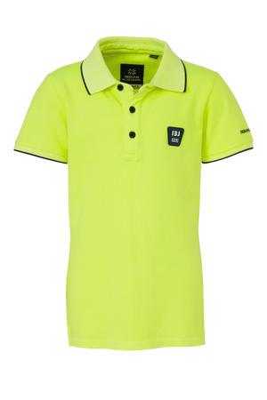 polo neon geel/zwart