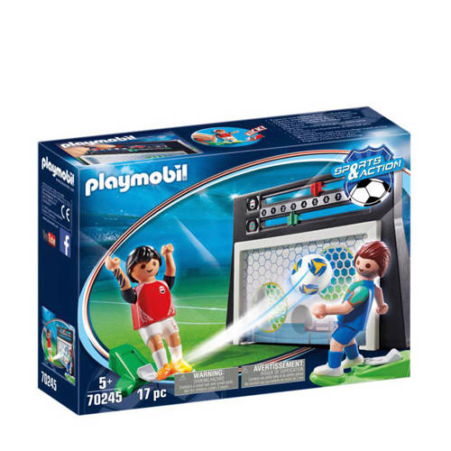 Playmobil Sports & Action Voetbalmuur 70245