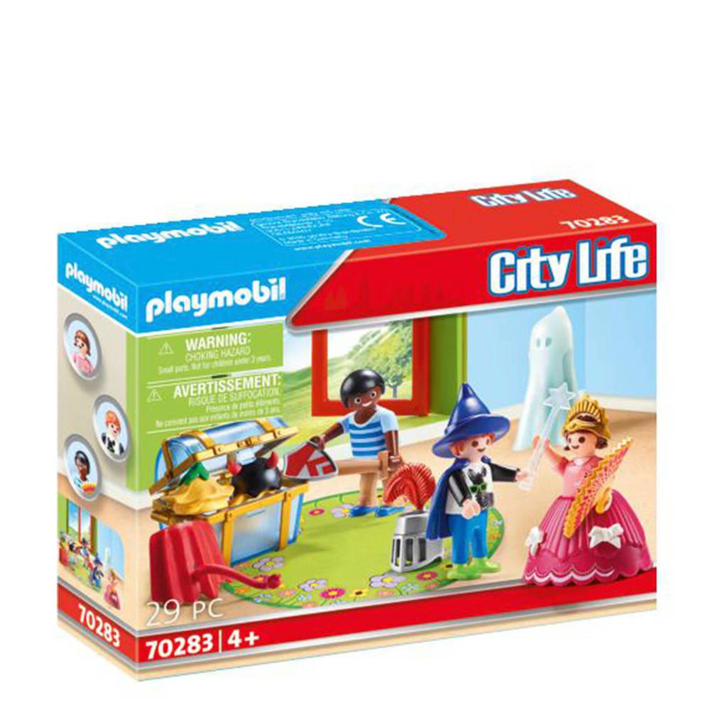 Playmobil City Life Kinderen met verkleedkoffer 70283