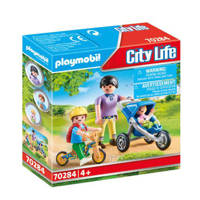 Playmobil City Life Mama met kinderen 70284