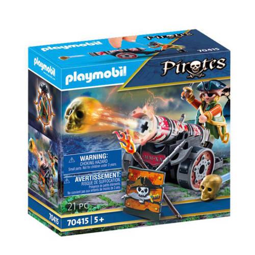 Playmobil Pirates Piraat met kanon 70415