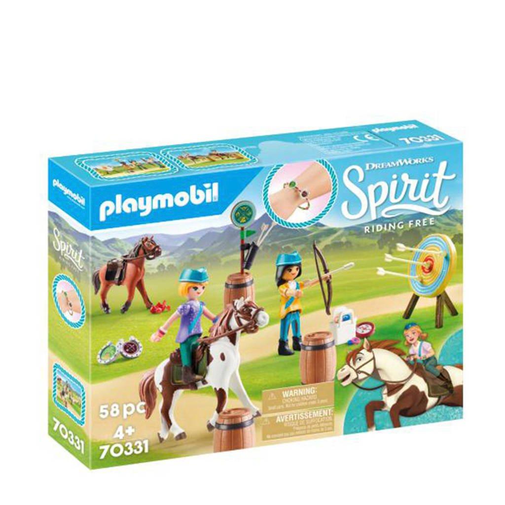 Playmobil Spirit Boogschieten te paard 70331