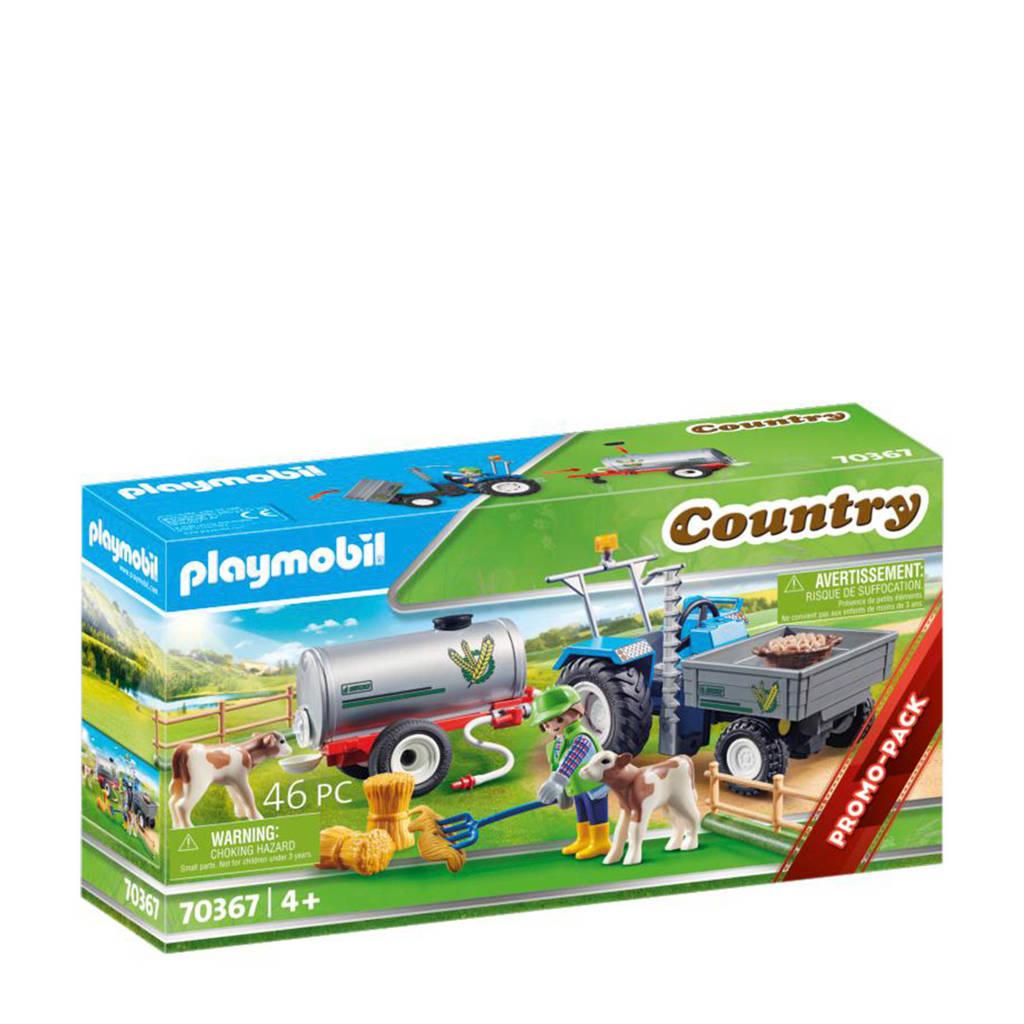 Playmobil Country Landbouwer met maaimachine 70367