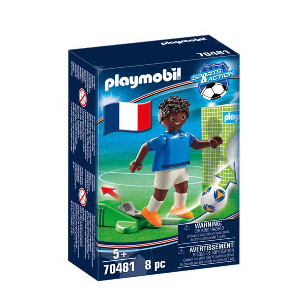Playmobil Sports & Action Nationale voetbalspeler Frankrijk B 70481