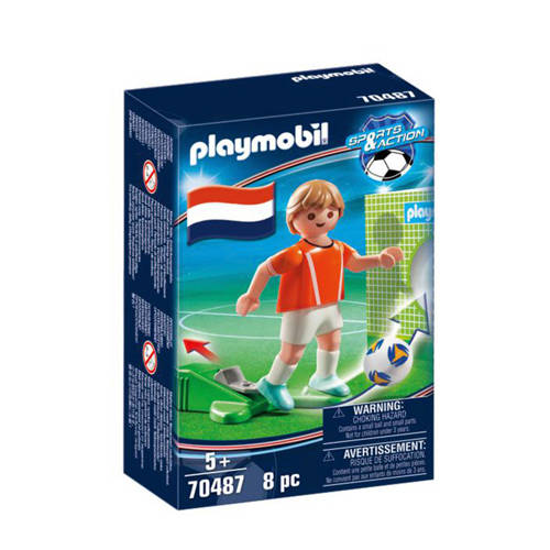 Playmobil Sports & Action Nationale voetbalspeler Nederland 70487