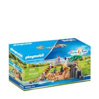Playmobil Family Fun Leeuwen in het buitenverblijf 70343
