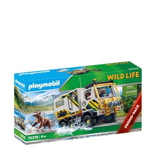 Playmobil Wild Life Expeditietruck 70278