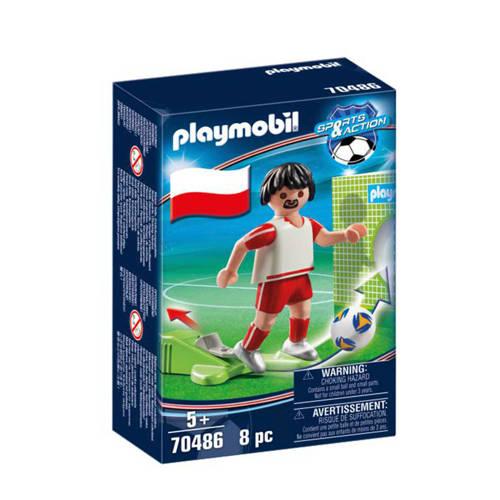 Playmobil Sports & Action Nationale voetbalspeler Polen 70486