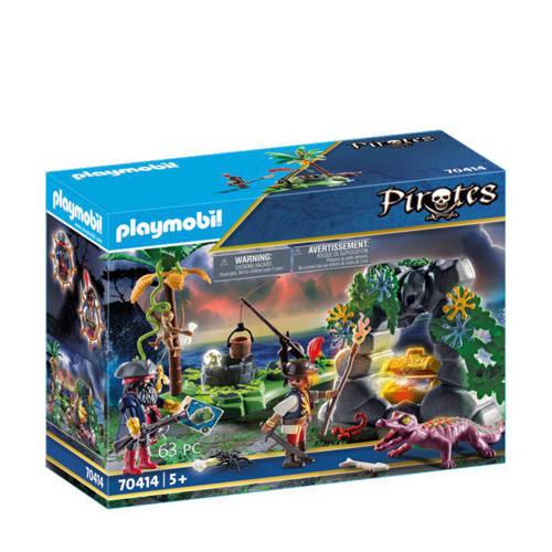 Playmobil Pirates Piraten op schattenjacht 70414