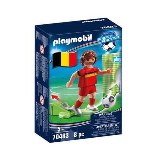 Playmobil Sports & Action Nationale voetbalspeler België 70483