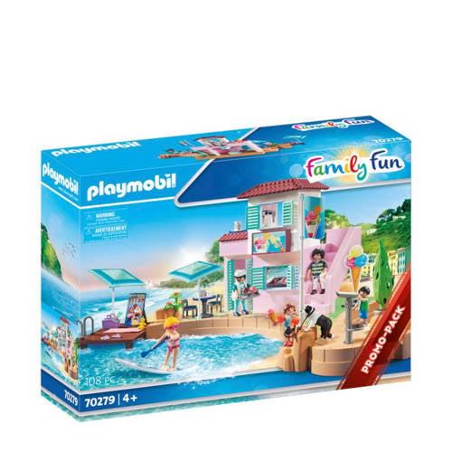 PLAYMOBIL Family Fun: ijssalon aan de haven (70279)