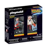 Playmobil Back to the Future  DuoPack Marty McFly & Dr. Emmet Brow 70459