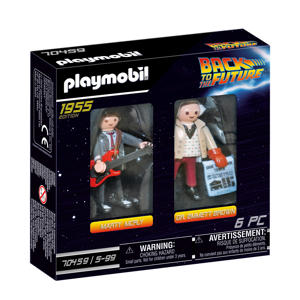 DuoPack Marty McFly & Dr. Emmet Brow 70459