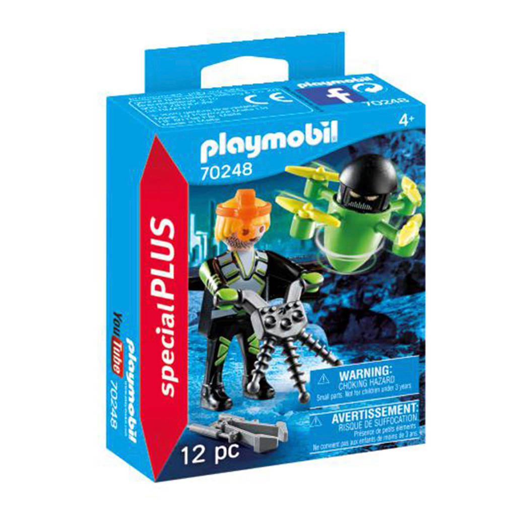 Playmobil Special Plus Agent met drone 70248