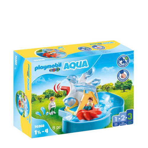 Playmobil Aqua Waterrad met carrousel 70268