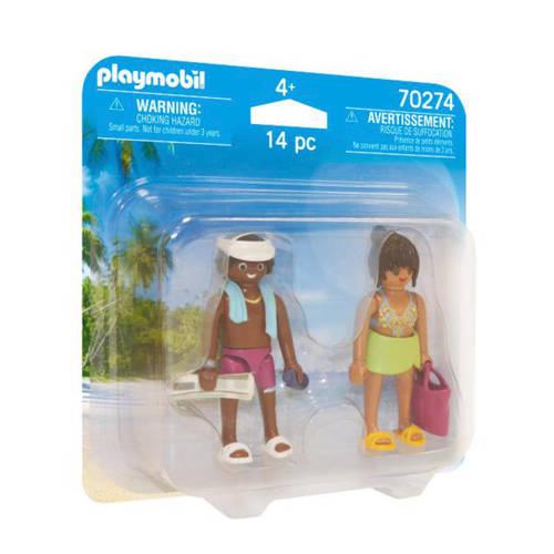 Playmobil Duo Pack Koppel vakantiegangers 70274