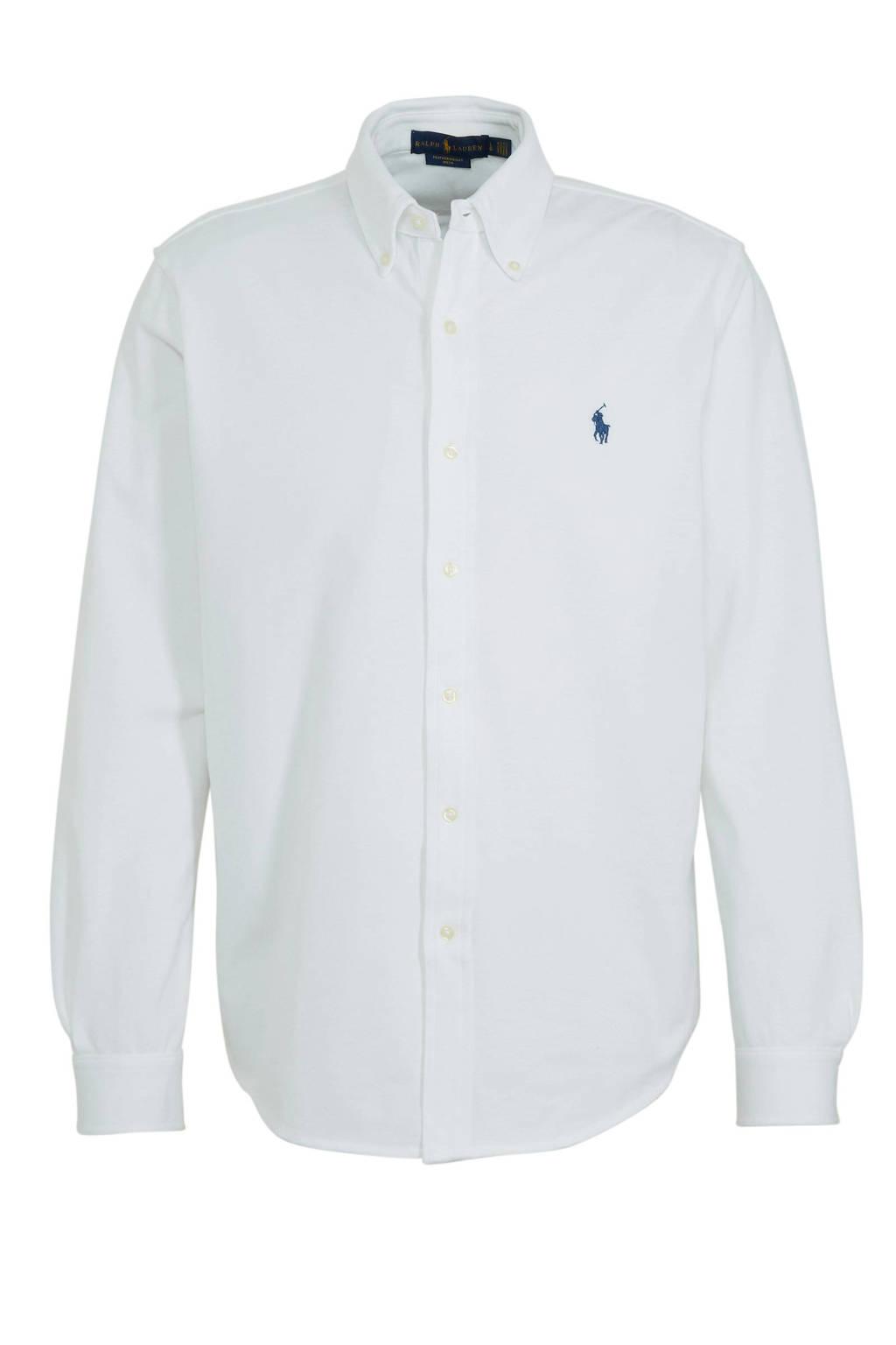 POLO Ralph Lauren regular fit overhemd wit, Wit