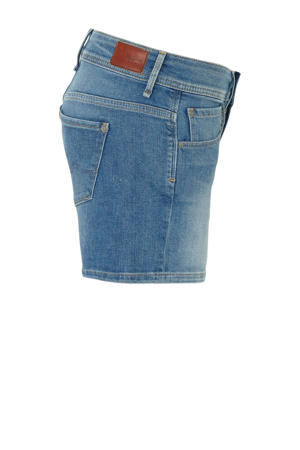 slim fit short blauw