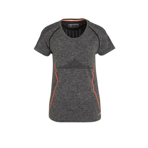 Sjeng Sports T-shirt grijs/zwart