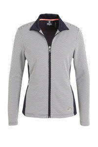 Sjeng Sports vest Lilly donkerblauw/wit, Donkerblauw