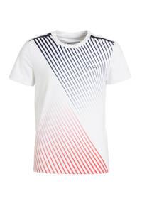Sjeng Sports   T-shirt Thomas Jr. wit, Wit/rood/blauw