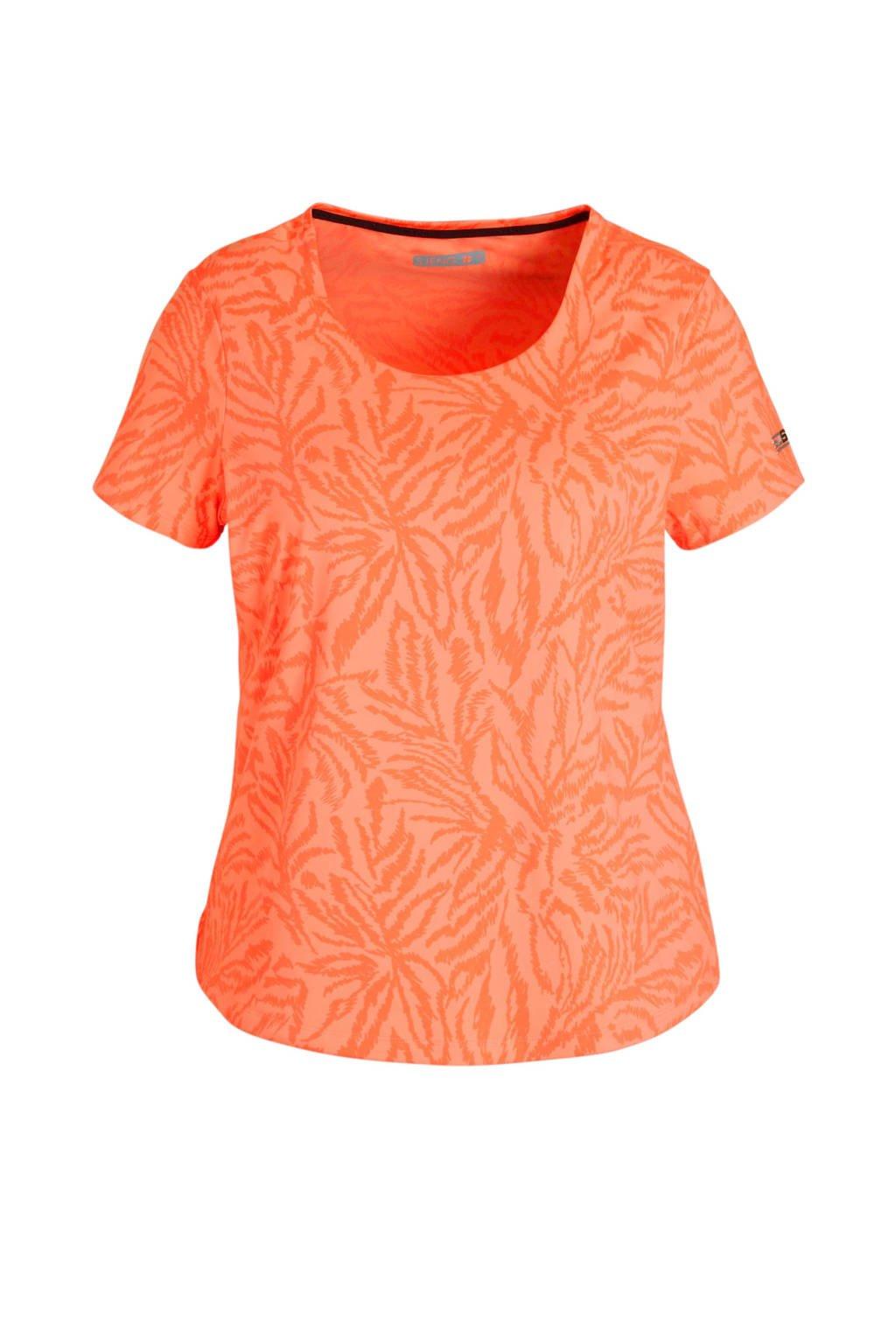 Sjeng Sports T-shirt Michelle Plus oranje, Oranje