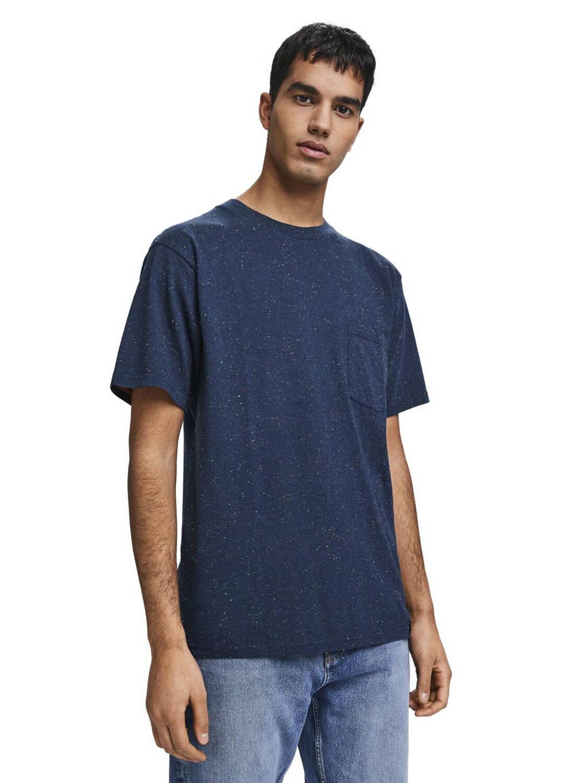 Scotch & Soda T-shirt donkerblauw, Donkerblauw