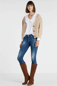 Diesel skinny jeans donkerblauw, Donkerblauw