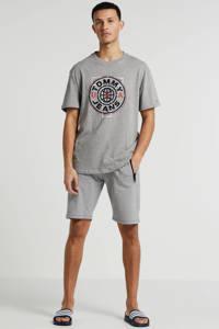 Tommy Jeans T-shirt van biologisch katoen grijs, Grijs