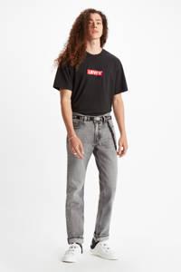 Levi's T-shirt met logo zwart/rood/wit, Zwart/rood/wit