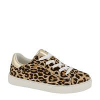 Graceland   sneakers goud/panterprint, Bruin/goud