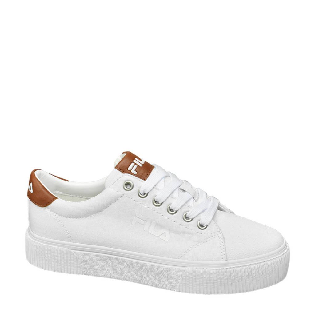 Fila   sneakers wit, Wit/bruin