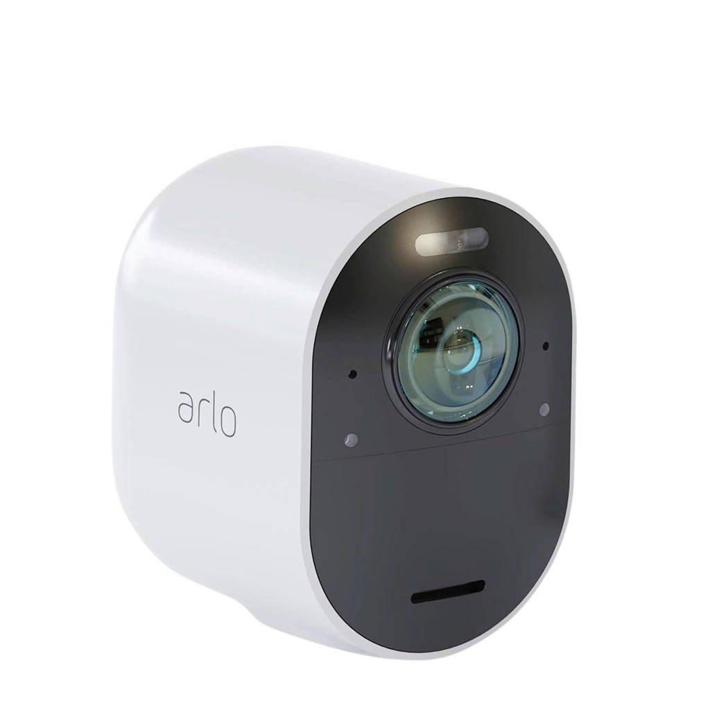 Arlo UHD 4K Ultra 4K uitbreidings beveiligingscamera, Wit